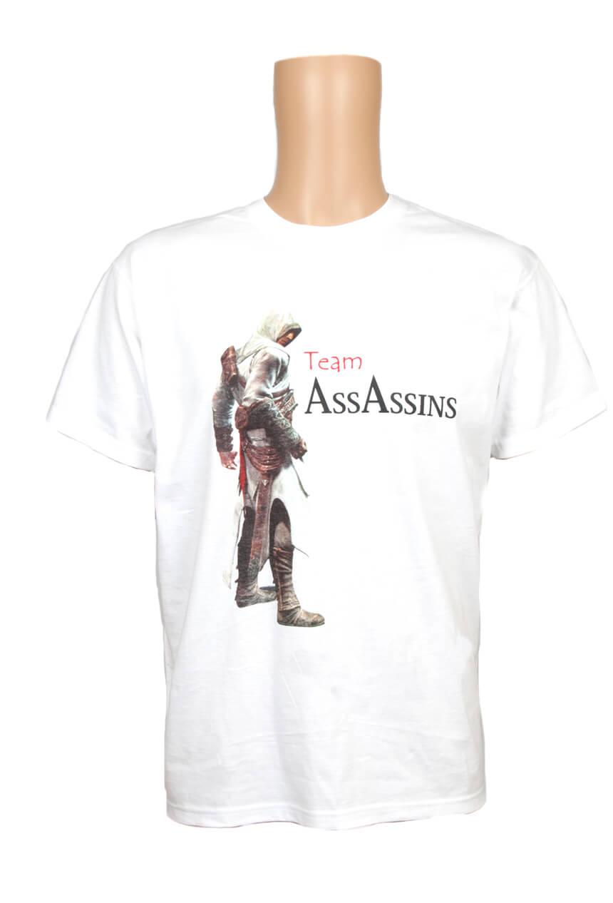 Assassins Creed screen printed t-shirt