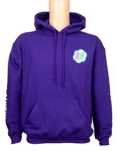 Avonasaurus hoodie in purple