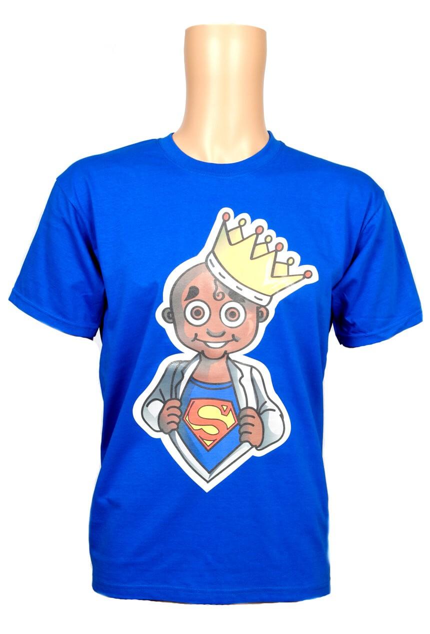 Cartoon screen printed t-shirt