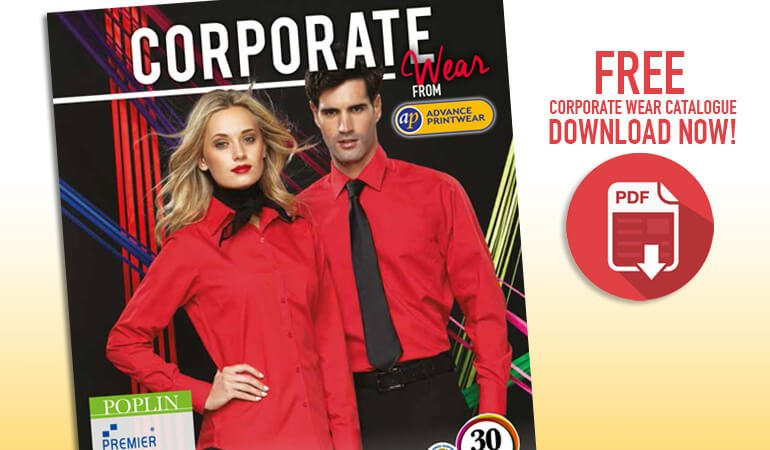 Custom clothing – FREE Corporate Wear Catalogue bursting with great ideas!