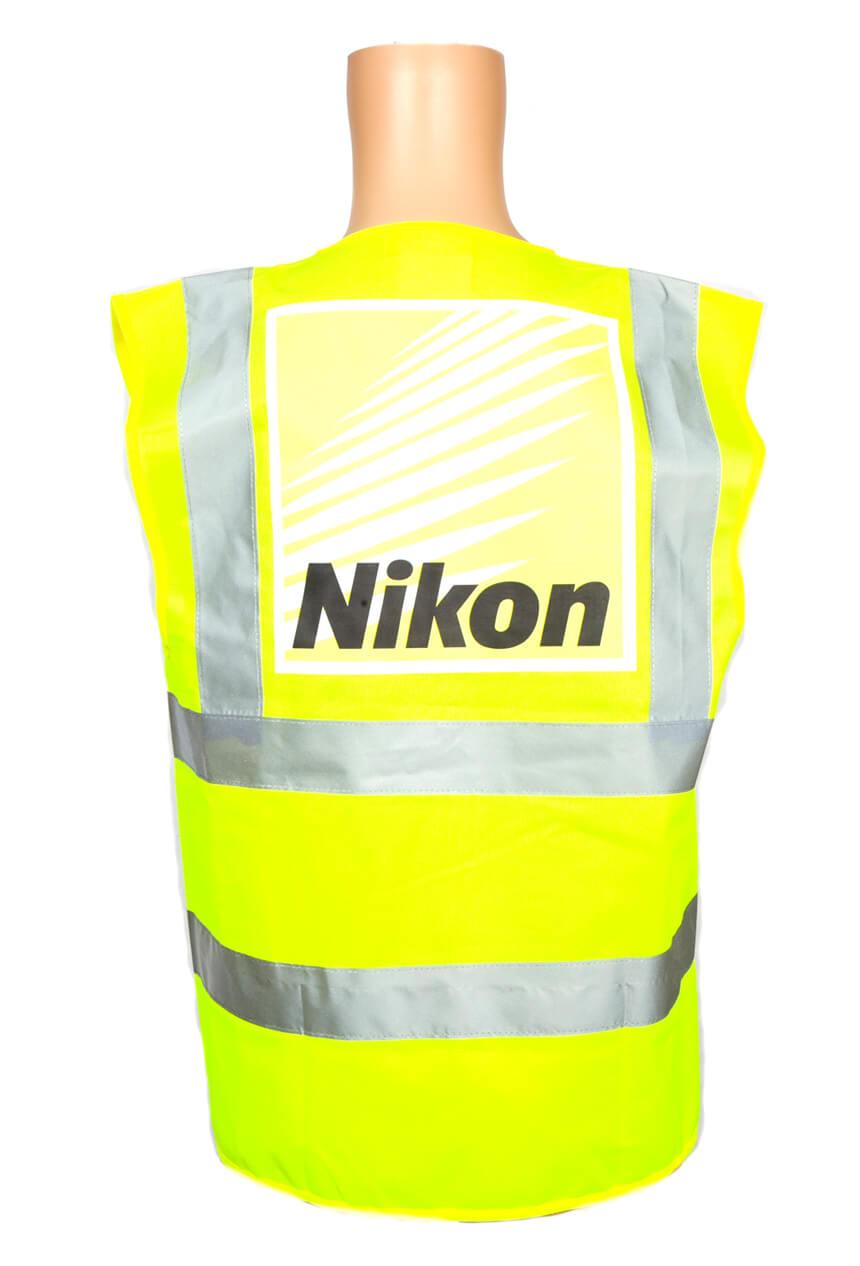 Nikon branded high visibility jacket