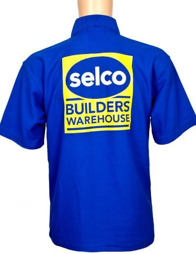 Selco Builders Warehouse polo shirt