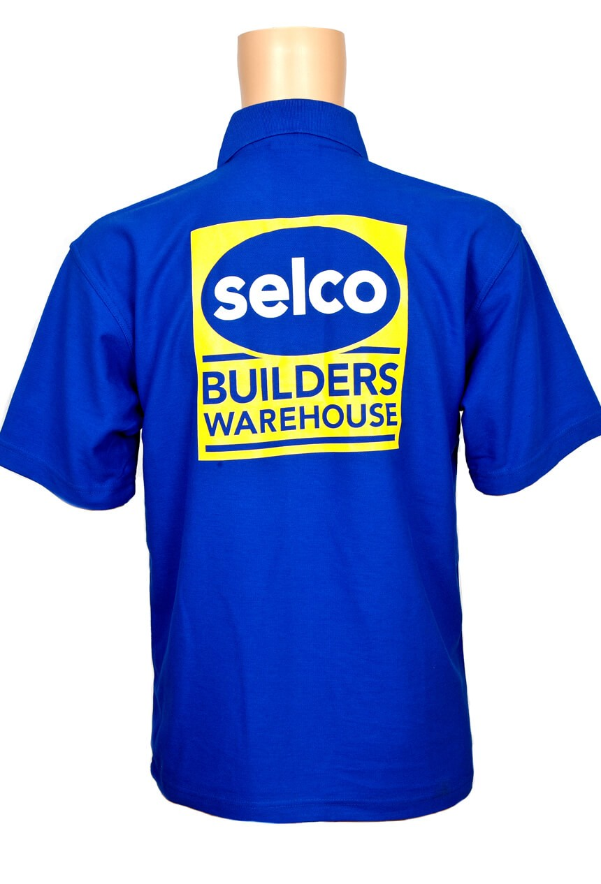 Selco Builders Warehouse t-shirt from the back