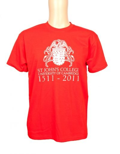 St Johns College t-shirt
