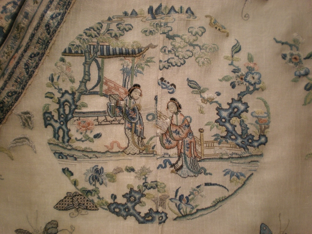 Early Embroidery History Chines Robe Detail e