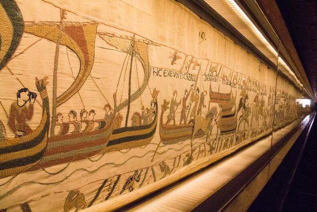 Bayeux Tapestry Medieval Embroidery