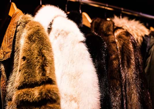 real and vegan fur coats