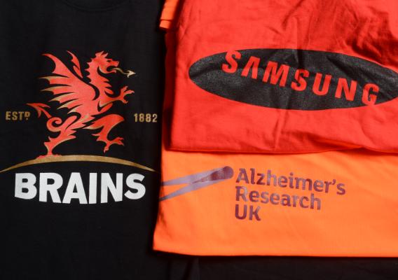 branded t-shirts in Birmingham
